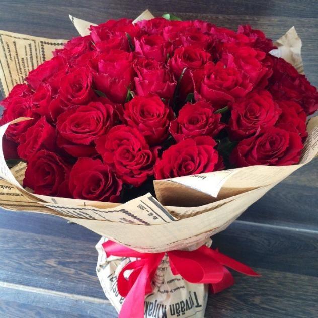 Букет 51 нежная роза
