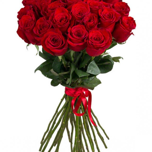 Букет классических ярких роз